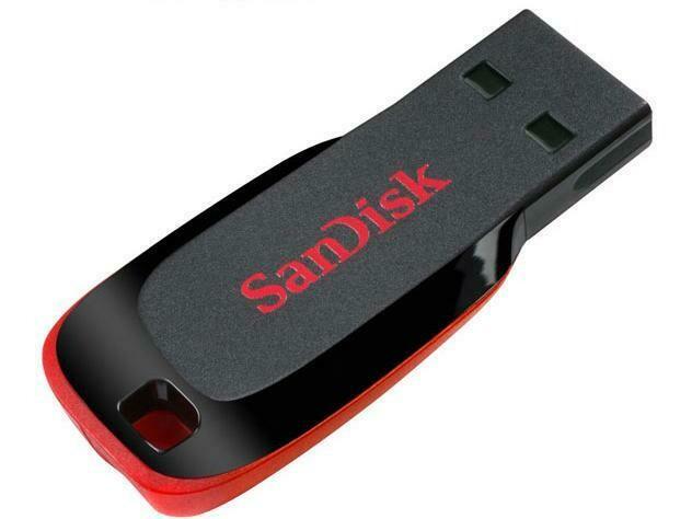 SanDisk Clé USB Cruzer Blade 16 GB