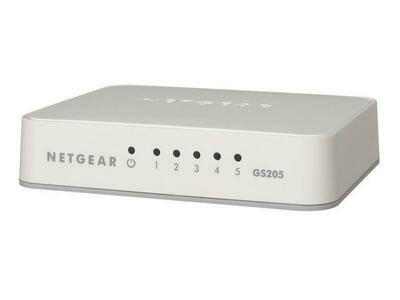 Netgear Switch FS205 5 Port