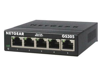 Netgear Switch GS305v3 5 Port