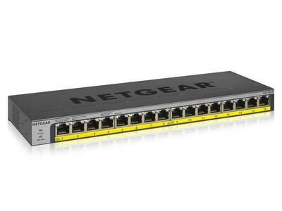 Netgear Commutateur PoE+ GS116LP 16 Port