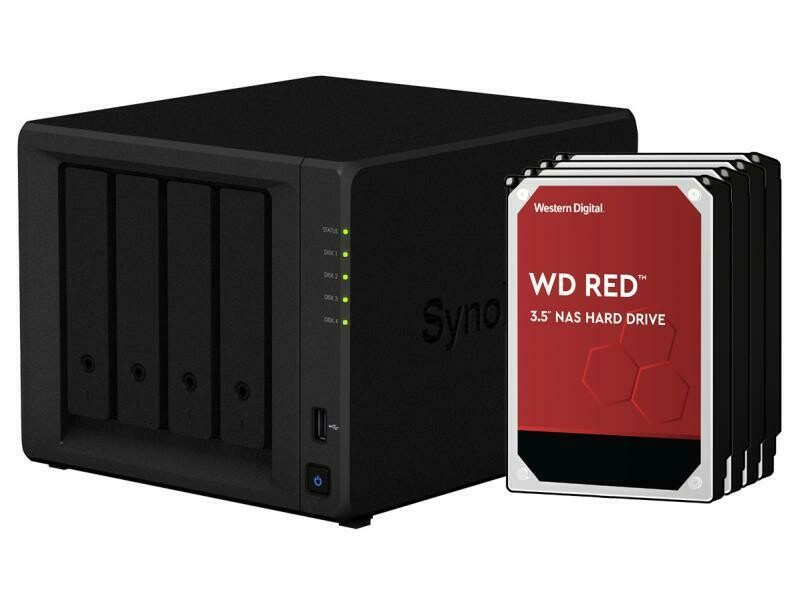 Synology NAS DiskStation DS920+ 4-bay WD Red 16 TB