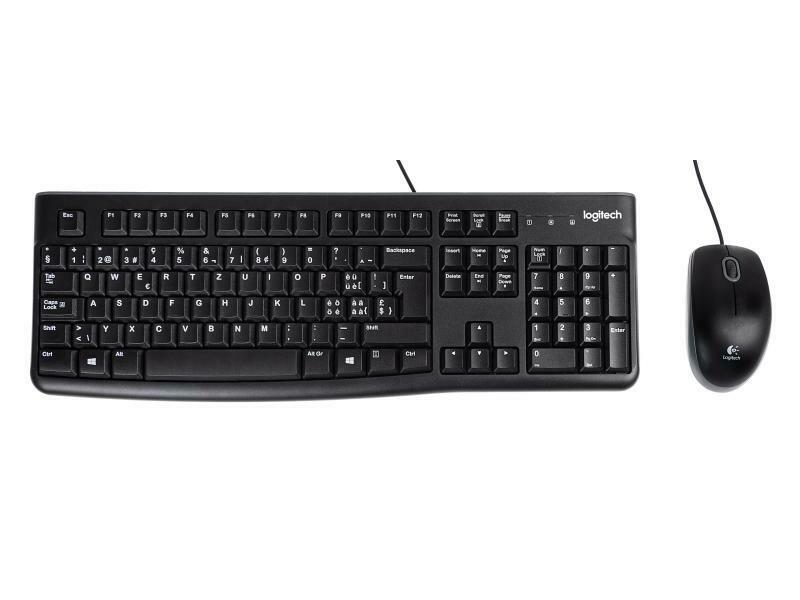 Logitech Kit clavier-souris MK120