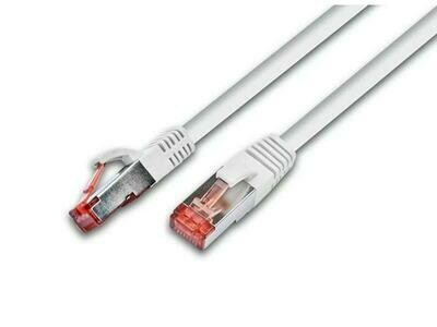 Wirewin Câble de raccordement Cat 6, S/FTP, 10 m, Blanc
