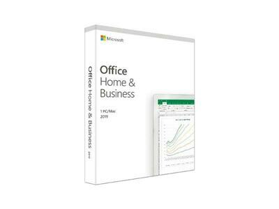 Microsoft Office 2019 Home and Business Boîte, allemand