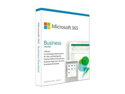 Microsoft 365 Business Standard PKC, version complète, français