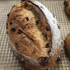 Cinnamon-Raisin Loaf, Baked Thursday