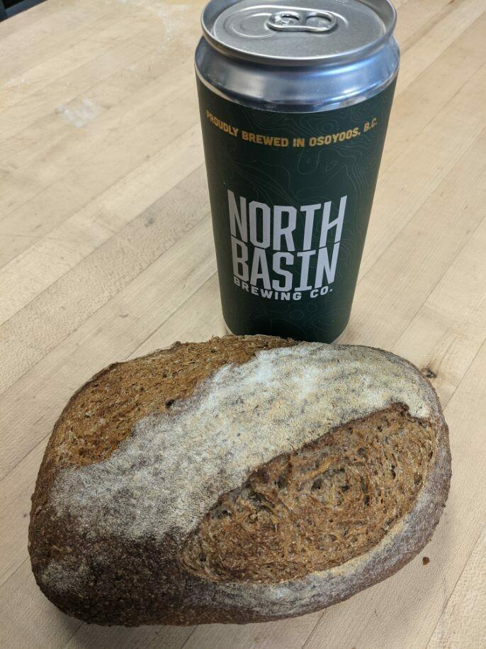 North Basin Spent Grain Loaf, Baked Sunday