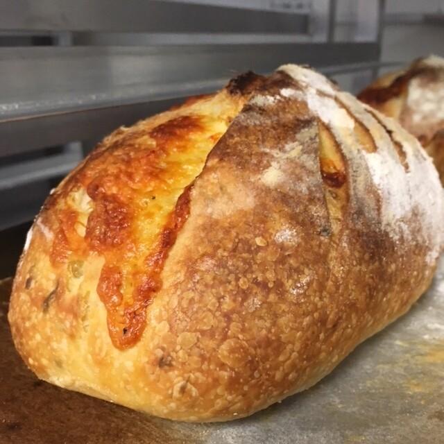 Aged Cheddar & Oregano Loaf, Baked Saturday