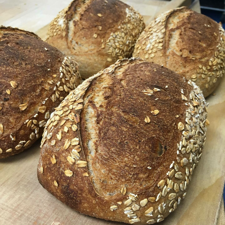 Honey Oat Whole Wheat, Baked Sunday