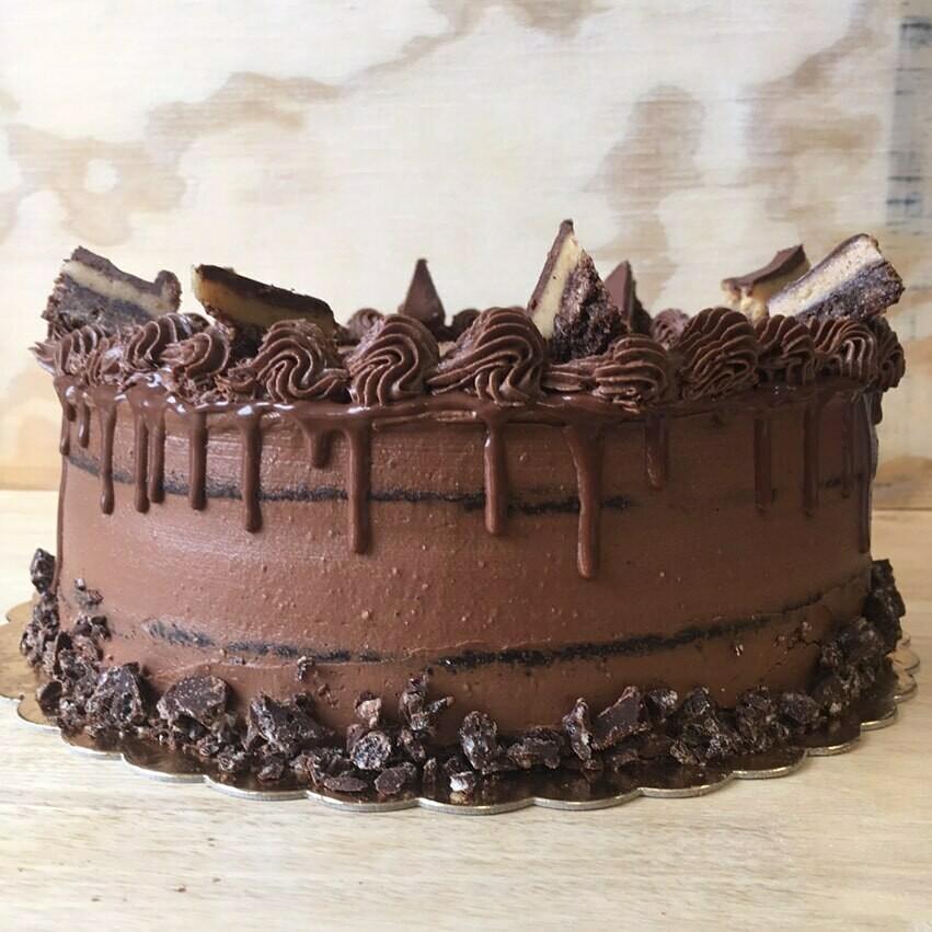 Chocolate Peanut Butter Cake (Request)