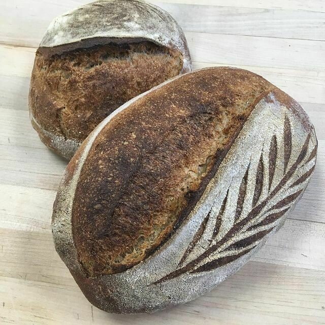Dark Horse Loaf, Baked Saturday
