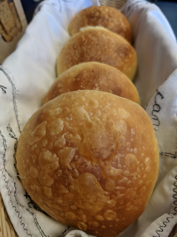 BBQ-Ready Olive Oil Buns