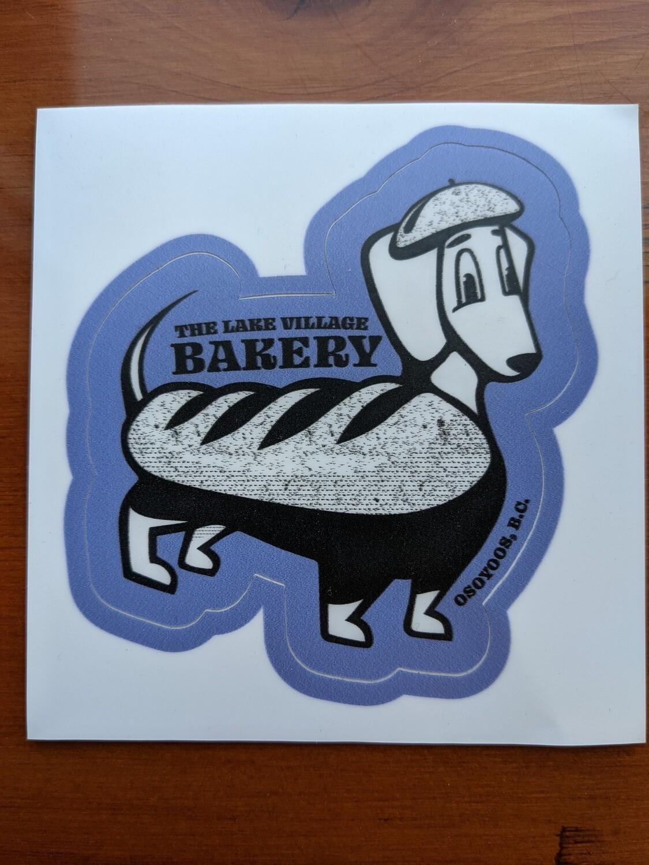 The LVB Taco Sticker