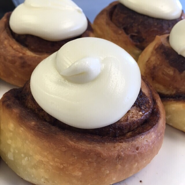 Sourdough Brioche Cinnamon Buns - Baked Daily