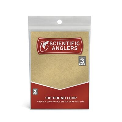 Scientific Anglers 3-Pack 100 Pound Loops