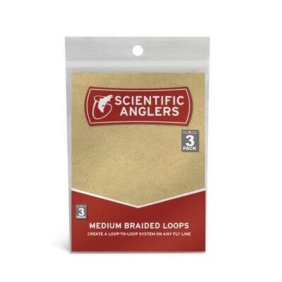 Scientific Anglers 3-Pack Braided Loops