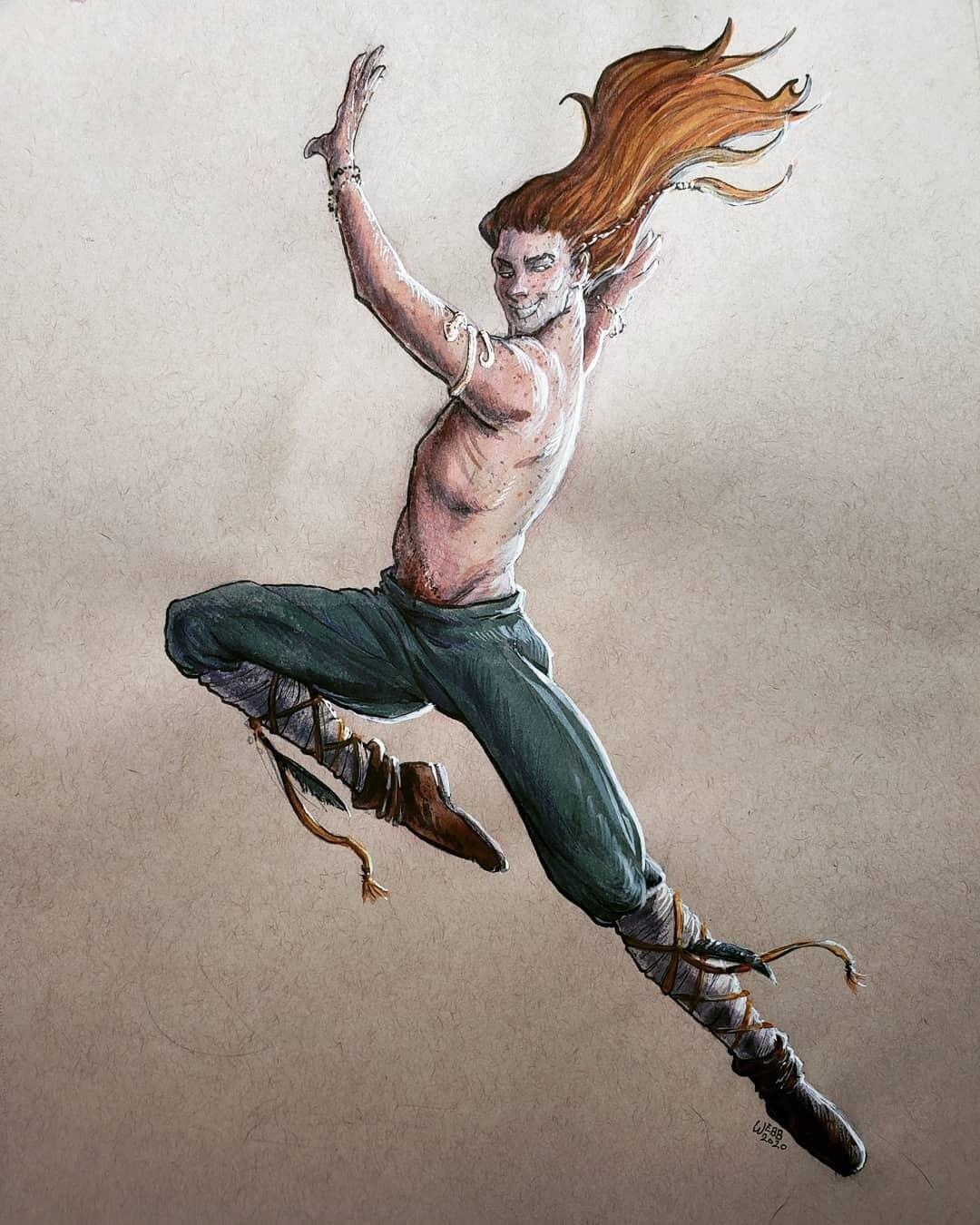 PreOrder Loki Dance Print 5x7