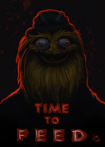 PreOrder Gritty Time to Feed Print 5x7
