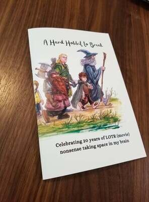 A Hard Hobbit to Break – LOTR Art Booklet