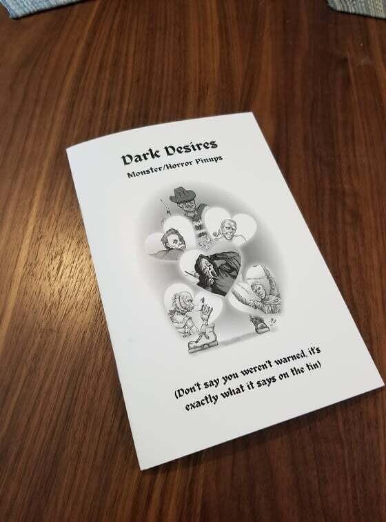 Dark Desires – Horror Pin Up Art Booklet
