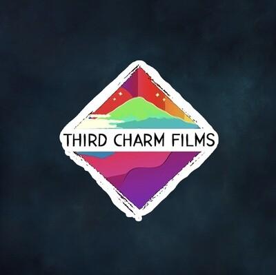 Third Charm Films Sticker