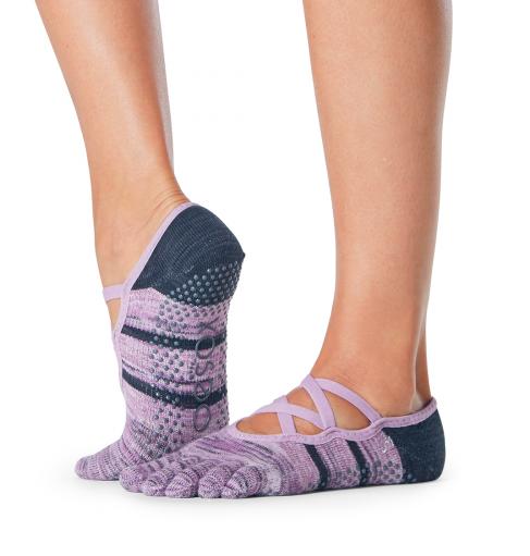 ToeSox Full Toe Elle Grip Socks In Wondrous