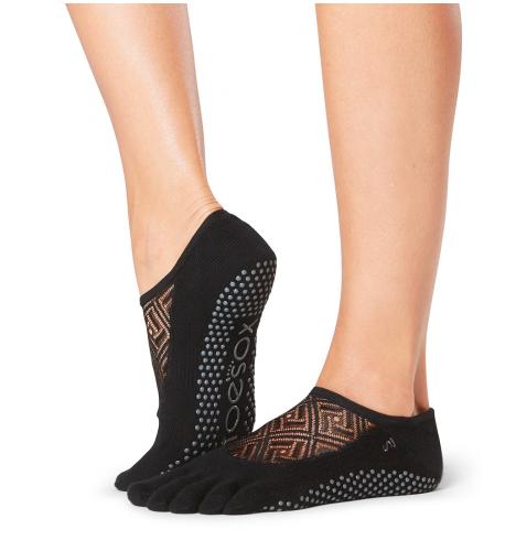 ToeSox Full Toe Luna Grip Socks In Elemental