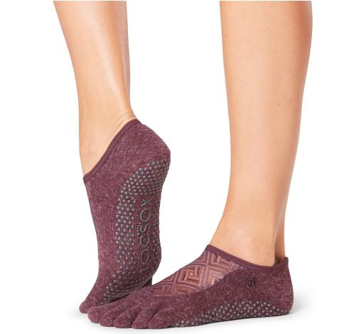 ToeSox Full Toe Luna Grip Socks In Entity