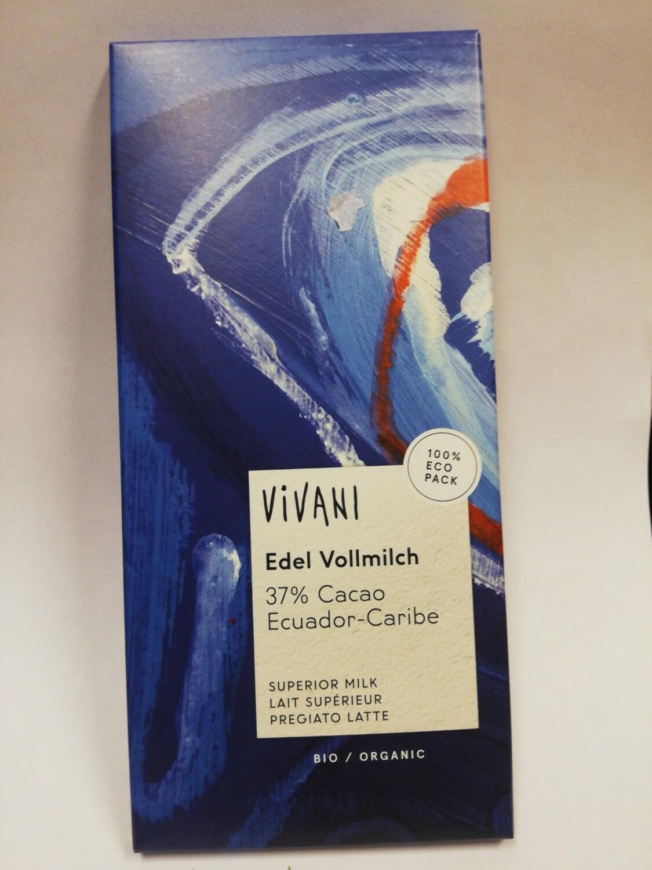 Vivani volle melk chocolade 37%