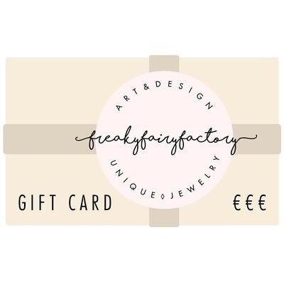 FREAKYFAIRYFACTORY Gift Card