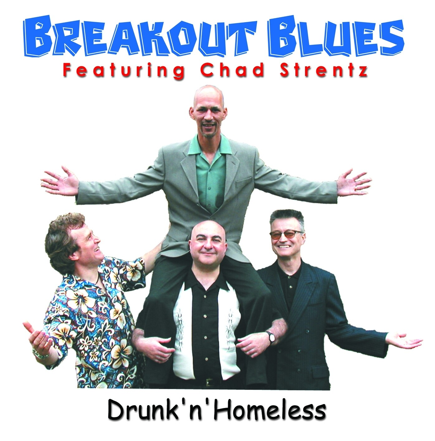 Drunk'n'Homeless CD by Breakout Blues
