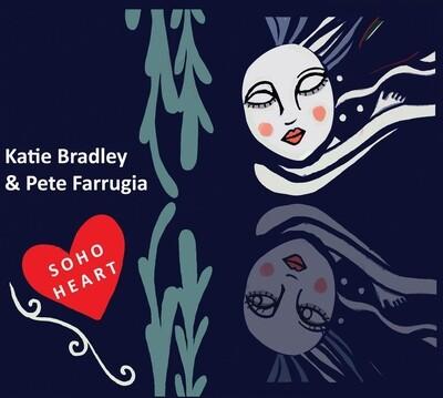 Soho Heart CD by Katie Bradley & Pete Farrugia