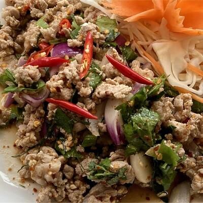 Larb salads