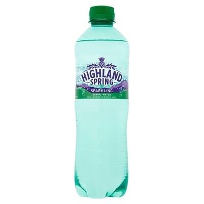 Highland Spring sparkling water