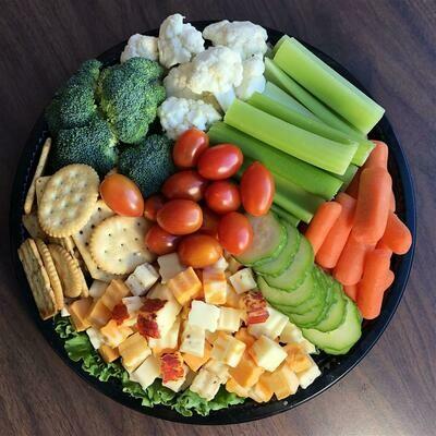 Cheese/Cracker/Veggie Combo