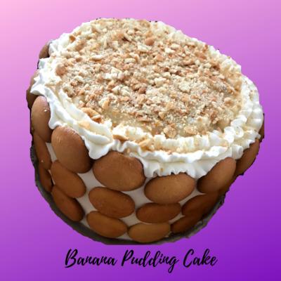 Banana Pudding Cake 8in