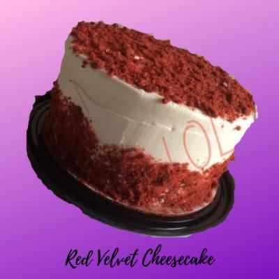 Red Velvet Cheesecake 8in