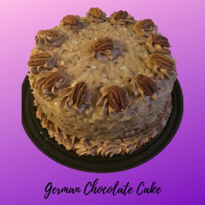 German Chocolate Cake 8in