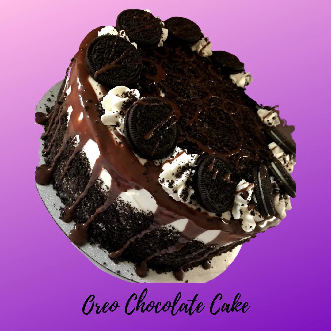 Oreo Chocolate Cake 8in