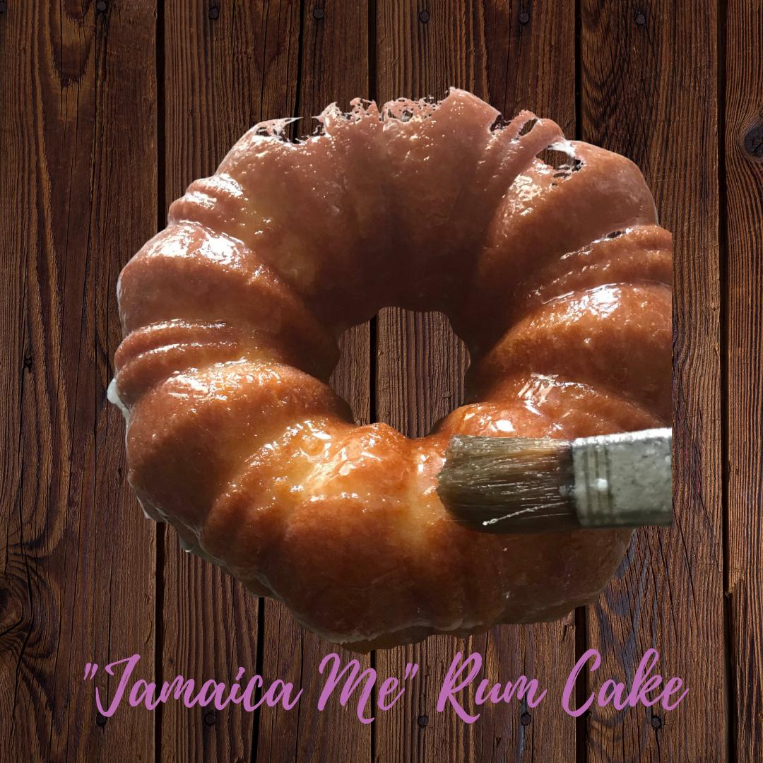 """""""Jamaica Me"""" Rum Cake"""