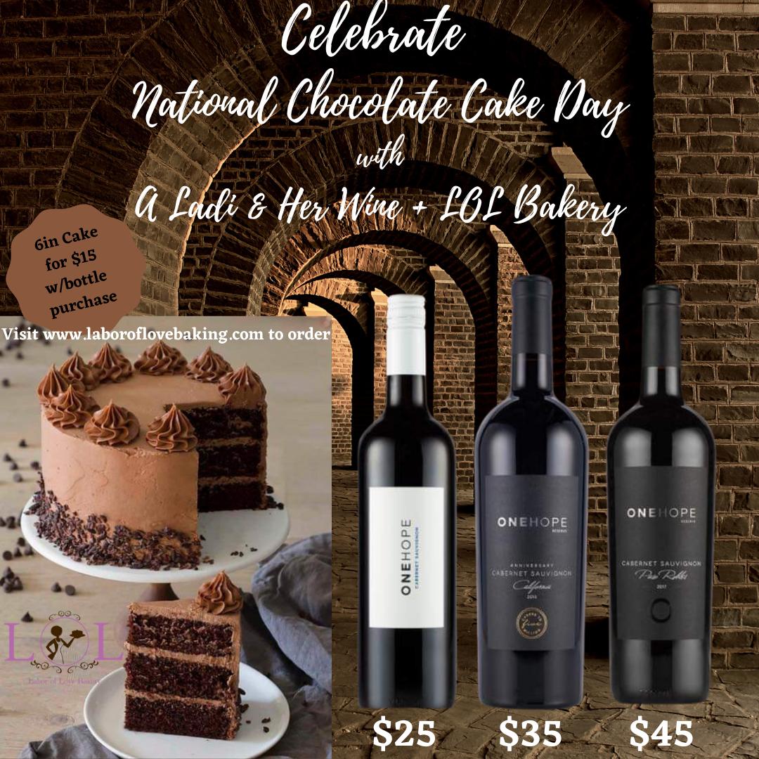 National Chocolate Cake Day!