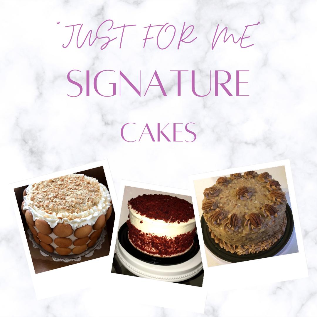 Personal 6in Signature Cakes