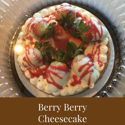 Berry Berry Cheesecake