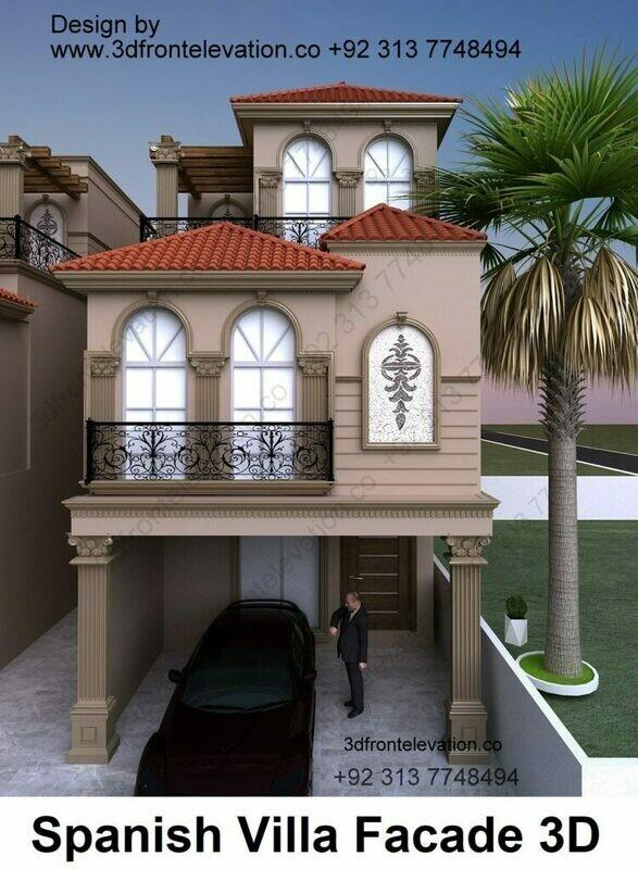 Modern House Design | 3, 5, 8, 10 Marla House Plan