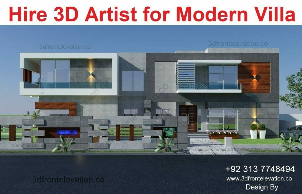 Modern Villa Design | Hire Home Design Architect