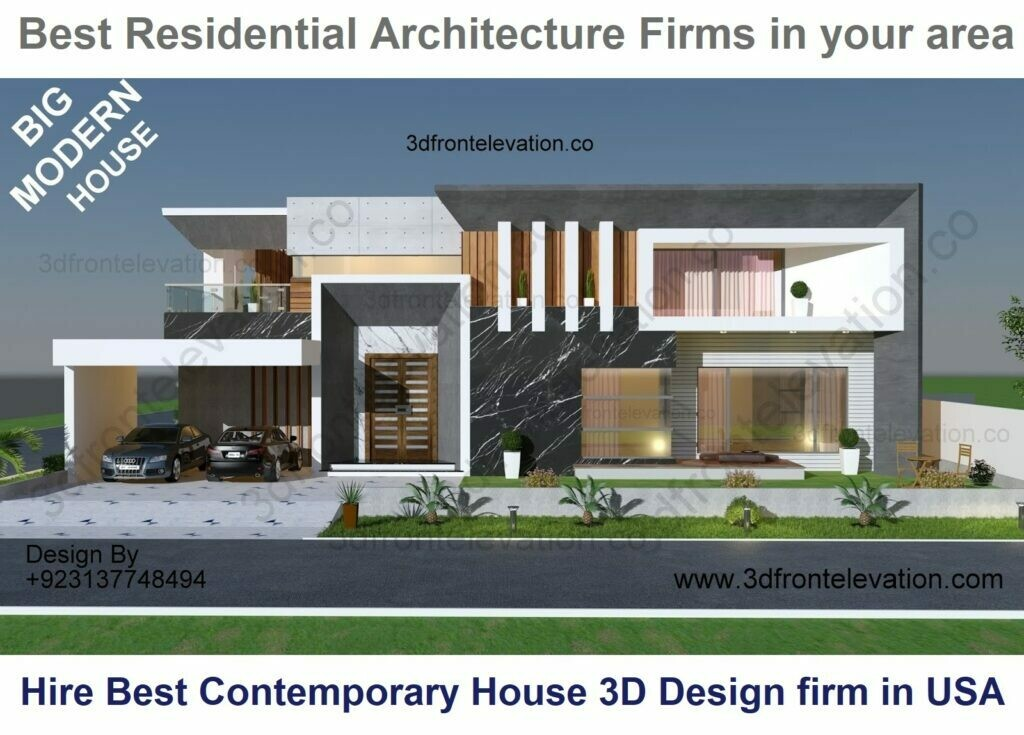 Best Residential Architects near me   Minimalist Mansion