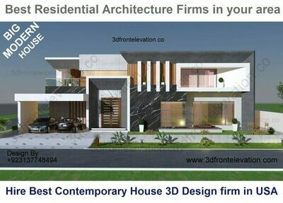 Best Residential Architects near me | Minimalist Mansion