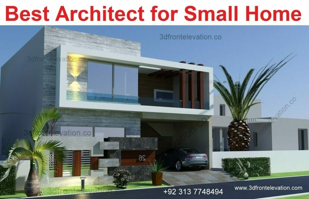 Modern House Design | 3, 5, 8, 10 Marla House Plan