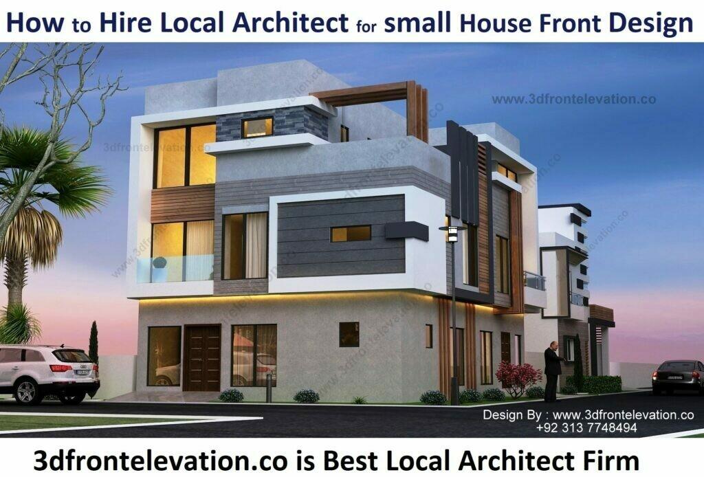 Small House Exterior Design | 5, 8, 10 Marla House Plan