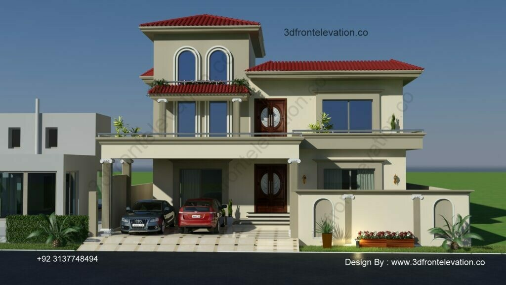 Spanish Style House | House Exterior Design